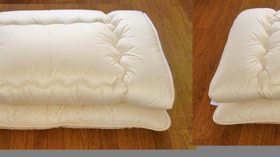 麻混ベッドパット Qサイズ 160×210 3.5kg