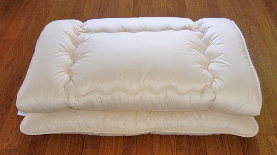 D羊毛綿100%ベッドパット 140cm×210cm 2.8kg
