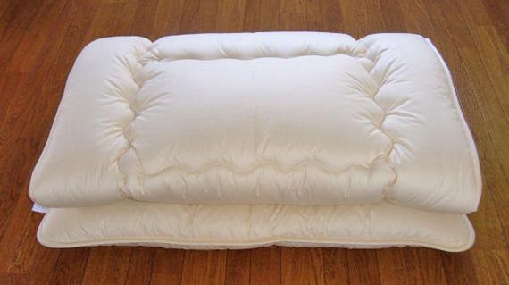 Q羊毛綿100%ベッドパット 160cm×210cm 3.2kg